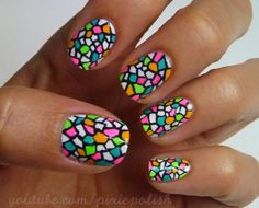 Glass nail art is a easy activity that looks really awesome. Here are the 9 best handpicked stained glass nail art looks that even you can try out. Get Nails, Love Nails, How To Do Nails, Pretty Nails, Hair And Nails, Style Nails, Nail Art Designs, Nails Design, Funky Nails