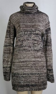 OMG gorgeous! This 1.3k MALO Cashmere Turtleneck Sweater Dress Sz 44 S M Ultra LUXE Beautiful !!