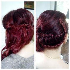 Red hair color and b