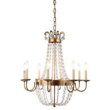 Ronnie 8 Light Candle-Style Chandelier