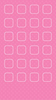 . Pink Backgrounds, Apple Logo, Screen Wallpaper, Homescreen, Iphone Wallpapers, Squares, Hello Kitty, Shelf, Icons