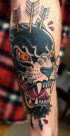 Panther by Bunker Tattoo