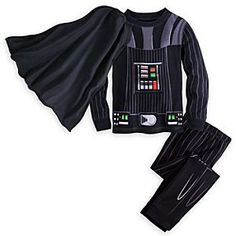 Darth Vader Costume PJ PALS for Boys | Disney Store After inspecting the Stormtroopers and tucking away his Tie Fighter, he can take off his cape and drift to sleep in our Darth Vader Costume PJ PALS, as visions of Death Stars dance in his head.