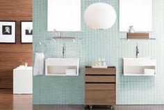 Casa de banho com dois lavatórios | Eu Decoro