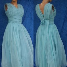 Vintage 50s 1950s Pinup Chiffon Tulle Princess by mom24kids, $162.00