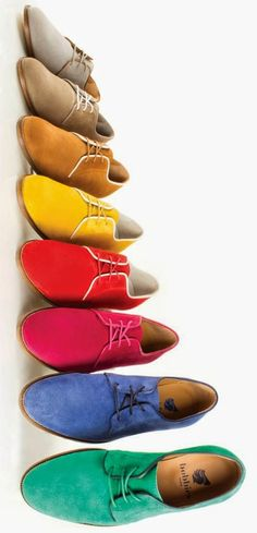Colors, colors and more colors. #shoes #men ❁ Die Dressed Well ❁ | @saafir