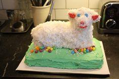 Easter Lamb Cake Recipe~