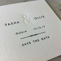 Simple and Elegant wedding invitation. Black and White with a more modern look. #weddinginvitation