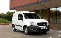 Download wallpapers Mercedes-Benz Citan, 2018, cargo minivan, cargo delivery, new white Citan, Mercedes