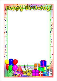 8 free printable stationery borders pretty designs here