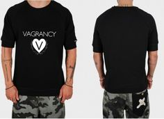 vagrancy heart Mens Fashion, Fashion Outfits, T Shirts For Women, Men's Apparel, Mens Tops, Clothes, Heart, Style, Moda Masculina