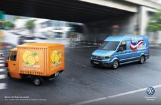 Volkswagen – Never Let the Two Meet By Ogilvy, South Africa Volkswagen, Jus D'orange, Marketing Automation, Creative Advertising, Commercial Vehicle, South Africa, Two By Two, Van, Meet
