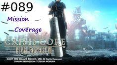 [#089] Final Fantasy VII: Crisis Core (PSP) Gameplay by Taronia Gamenstein