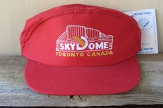 SKYDOME Toronto Canada Vintage 1988 Retractable Hat Trucker Snapback @  HatsForward #truevintage