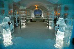 The Ice hotel at Sorrisniva, Alta, Norway