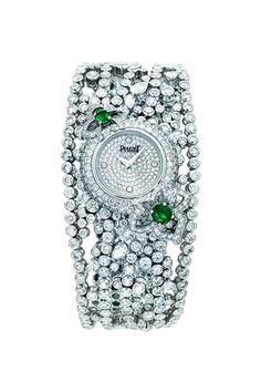 Piaget Diamond with Emeralds Watch♥