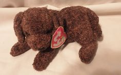 Original TY Beanie Babies Fetcher the Dog W tags Retired #Ty
