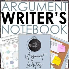 Help your middle school ELA students master argumentative essay writing with everything they need in one place. This Digital Argument Writer's Notebook is standards-based and gives student writers the freedom to work through the writing process independently. Share easily in Google Classroom. It's a... 7th Grade Ela, Argumentative Writing, Middle School Ela, Writers Notebook, Essay Writer, Writing Process, Google Classroom, Freedom, Students