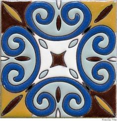 Mosaic Glass, Mosaic Tiles, Diy Projects Plans, Ceramic Painting, Tile Painting, Tiles Texture, Ceramics Projects, Sgraffito, Mosaic Patterns