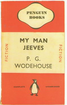 My Man Jeeves Art Print by Penguin Books at King & McGaw Vintage Penguin, Book Writer, Penguin Books, Any Book, I Love Books, My Man, Penguins, Book Art, Reading