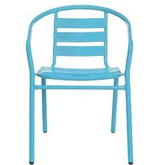 Sie möchten neben dem Sandkasten im Garten sitzen, bei Bedarf unter die schattenspendenden Bäume rutschen oder auf der Terrasse noch ein paar Gäste an der gedeckten Tafel platzieren: Immer dann, wenn ein ganz unkomplizierter und zugleich farbenfroher Sitzplatz gefragt ist, stellt der Zabaione-Stuhl seine Stärken unter Beweis. Das unkomplizierte Modell im Bistro-Stil, stapelbar, aus lackiertem Aluminium gefertigt, macht praktisch alles mit, was das sommerliche Leben draußen so wunderbar…