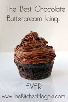 The best chocolate butter cream icing recipe! A few key ingredients make this icing absolutely amazing! | The Kitchen Magpie