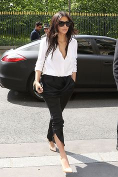 Kim Kardashian's Best Street Style Kim Kardashian Today, Estilo Kardashian, Kardashian Style, Kardashian Fashion, Style Kim K, Her Style, Simple Style, Style 2014, Minimal Style