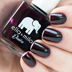 Ella+Mila Wine Me Up swatch by Paulina's Passions