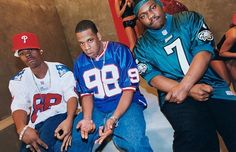 Memphis Bleek, Jay-Z & Beanie Sigel Hip Hop And R&b, 90s Hip Hop, Hip Hop Rap, Memphis Bleek, Brooklyn, Hip Hop Classics, Old School Music, Beyonce And Jay Z, American Rappers