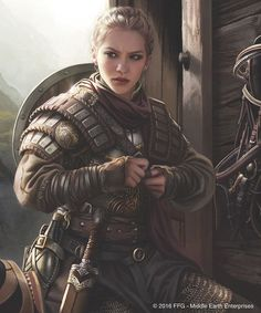 eowyn-by-magali-villeneuve