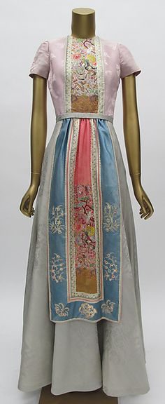 Mainbocher | Dress | American | The Metropolitan Museum of Art Women's vintage fashion history historical clothing
