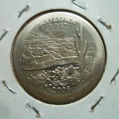 Arizona State Quarter Broad Strike Error. Reverse. I found this coin in circulation