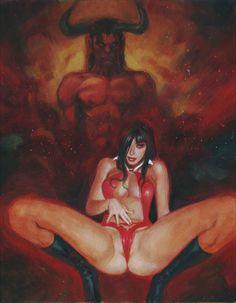 Fantasy sciart Erotic