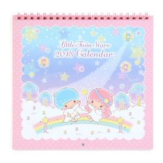 Little Twin Stars Mini Wall Calendar 2018 ($8.90) ❤ liked on Polyvore featuring home, home decor, office accessories, mini stickers, mini wall calendar, mini calendar and star stickers