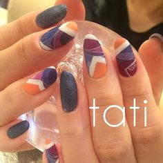 tati 竹原千晴 VETRO Art director @tati_nail すりガラスプッチ...Instagram photo | Websta (Webstagram)