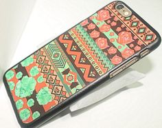 Colorful Patterns iPhone 6 Case by lizzysdreams on Etsy