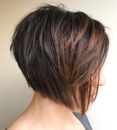 Choppy Inverted Jaw Length Bob Shorthairstyles Short Hairstyles 21 Gorgeous Short Bob Hairstyles For Thick Hair 2020 Choppy Bob 40 Choppy Bob Hairstyles 2020 Be Latest Short Hairstyles, Short Hairstyles For Thick Hair, Short Layered Haircuts, Wedge Hairstyles, Haircut For Thick Hair, Short Hair Cuts For Women, Hairstyles Haircuts, Short Hair Styles, Cuts For Thick Hair