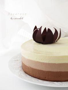 Bavarese tre cioccolati 6.1