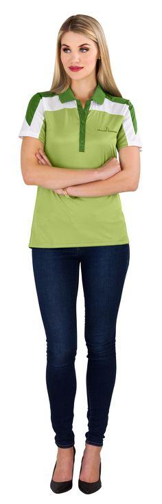 ELEVATE CLOTHING SOUTH AFRICA - Elevate Ladies Vesta Golf Shirt