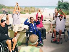 1 - This Woman Helps Disabled People Go to the Beach