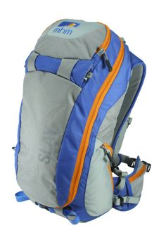 MHM SLAY 22 Backpack-  This snow pack is capable of carrying skis or a snowboard multiple ways utilizing our VersaHaul carry system. The large circular zipper opens up the entire front panel like a turtle shell to give you quick access to the main compartment, a shovel pocket, probe sleeves and a micro fiber lined goggle pocket. Hydration bladder compatible with an insulated zippered sleeve in the shoulder strap to keep water from freezing.   Available Spring 2014