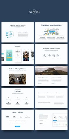 UI Kits for Landing Pages by Gris Fox on Creative Market - UI Kits - Ideas of UI Kits - UI Kits for Landing Pages by Gris Fox on Creative Market Web Design Examples, Creative Web Design, Web Design Tips, Site Design, Web Design Mobile, Design Ios, Flat Design, Minimal Web Design, Landing Page Inspiration