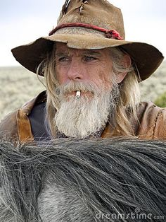 Old Timer Western Cowboy Roper Royalty Free Stock Photography - Image: 11966447
