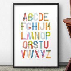Quadro Alfabeto 2 | Fábrica9