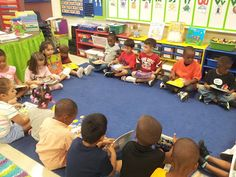 Getting Ready to Build Stamina (how to read a book, learning how to retell a story, learn how to turn and talk to an elbow partner, chime signal, how to take care of books)