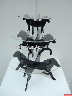 Horse themed cake stand