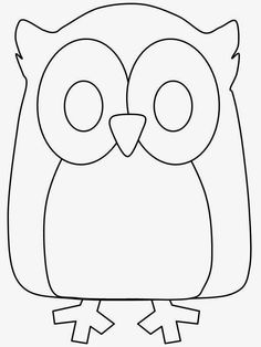 Print Birds Animals Coloring Pages coloring page & book. Your own Birds Animals Coloring Pages printable coloring page. With over 4000 coloring pages including Birds Animals Coloring Pages . Animal Templates, Applique Templates, Applique Patterns, Applique Designs, Card Templates, Owl Coloring Pages, Coloring Books, Simple Coloring Pages, Mandala Coloring