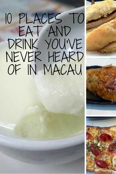 10 places to eat and drink in Macau you've probably never heard of