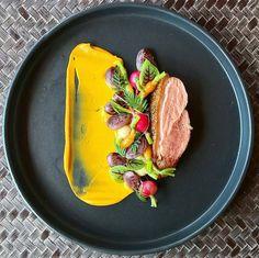 Duck breast • sweet potato • baby vegetables • christmas lima beans • @chefgrantirvin #food #foodie #foodporn #foodgasm #foodgram #foodphotography #foodism #duck #steak #cooking #salad #finedining #goodfood #goodlife #chef #cheflife #gourmet #art #artonaplate #sweetpotato #potato #fresh #fancy #instafood #beauty #beans #delicious #christmas #limabean #veggies