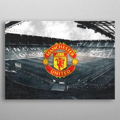 FC Manchester United sketch by J.P. Voodoo | metal posters - Displate - ift.tt/2T1Wzwr - #pixbreak #canvasprint #walldecor #homedecor